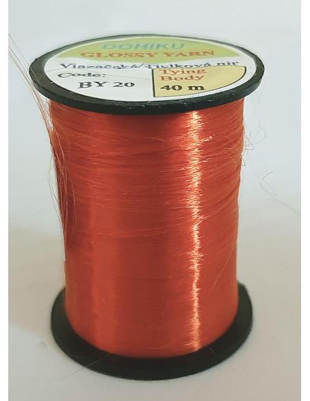 Tielková niť UV - Oranžová pastelová 13