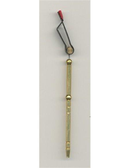 Krúžkovacie okrúhle lametky, NLK 04 - Medená